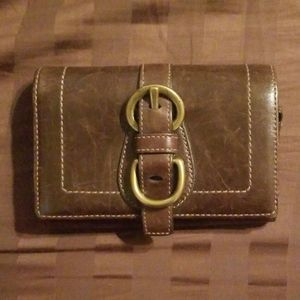Chocolate brown Coach Wallet